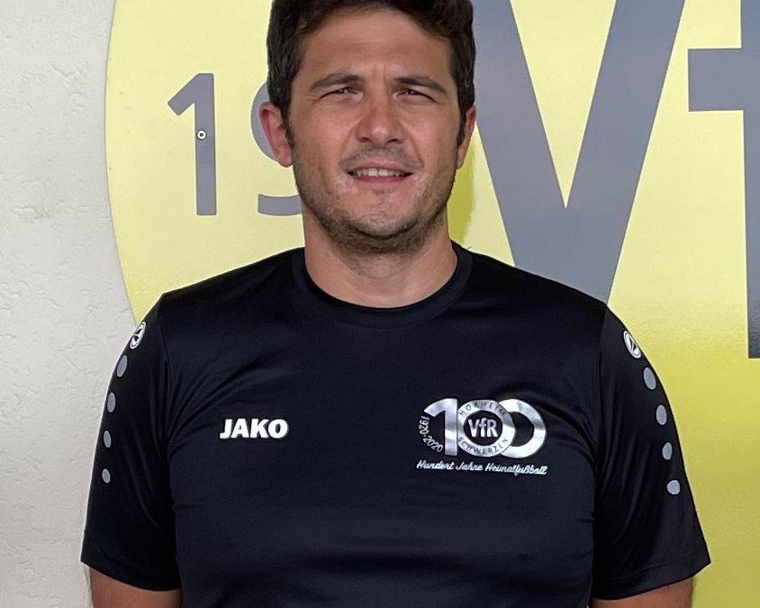 Süleyman Kaya neuer Trainer der 1. Mannschaft